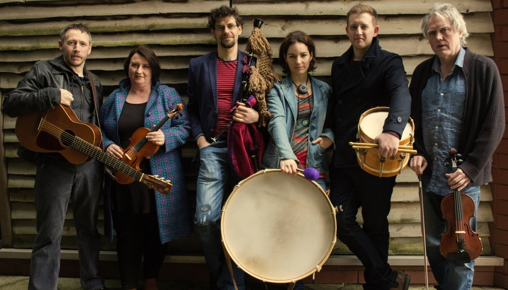 Maelog: From left to right, Dan Lawrence, Rhian Evan-Jones, Marta Novo, Gerardo Albela, Sam Jowett and Gareth Westacott.